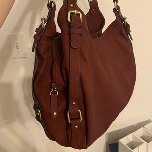 Merona maroon purse